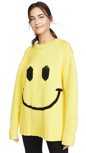 JoosTricot 微笑元素圆领毛衣