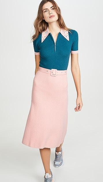 JoosTricot Peachskin Dress