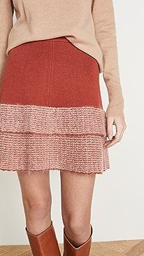 Mohair Miniskirt
