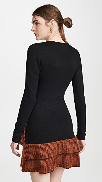 JoosTricot Long Sleeve Mini Dress