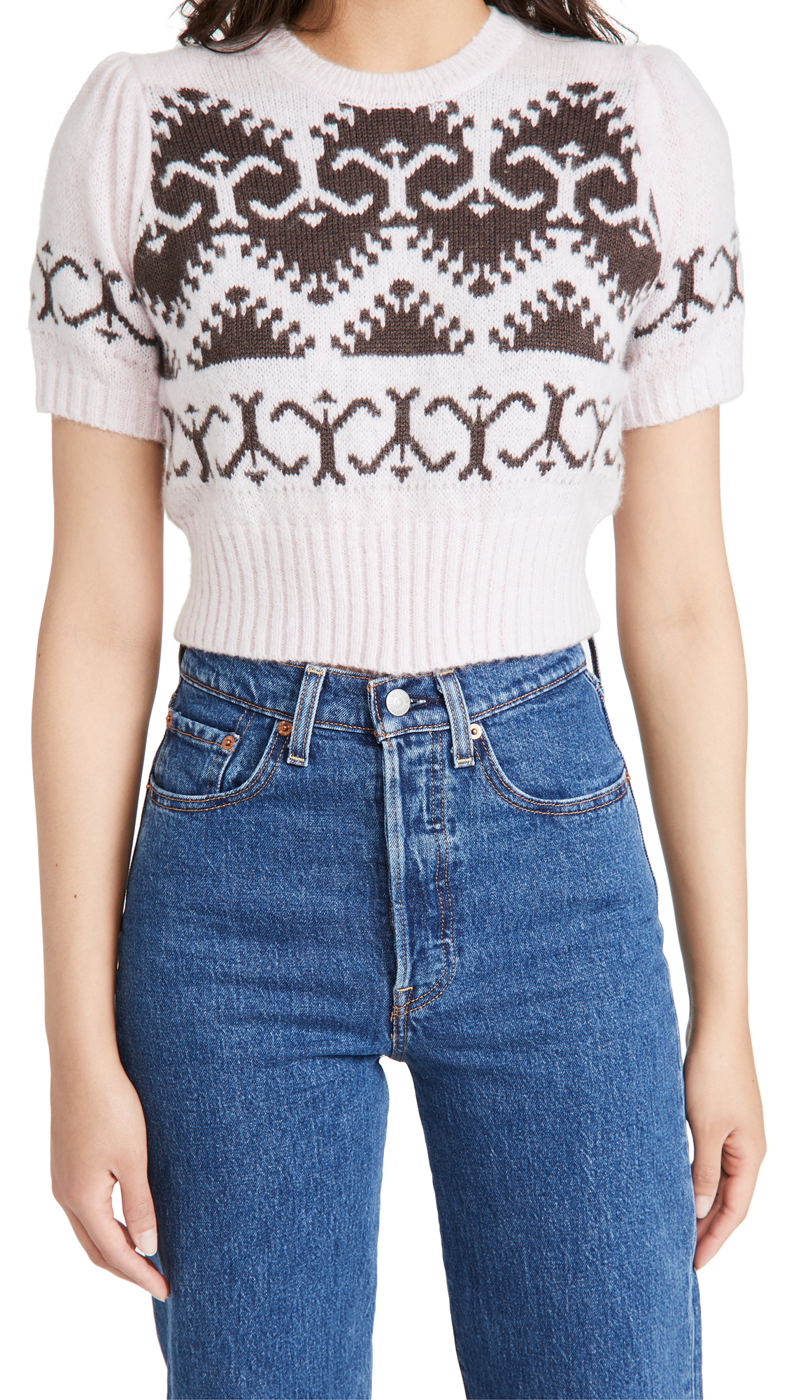 JoosTricot 40's Cropped Sweater