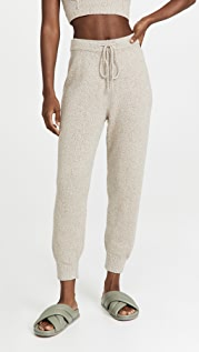 JoosTricot Speckled Linen Joggers