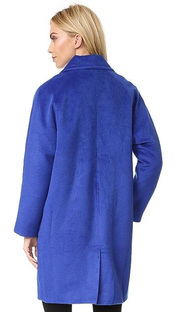 J.O.A. Cobalt Coat