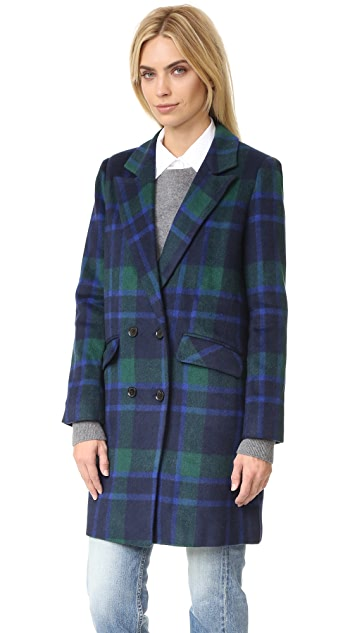 J.O.A. Plaid Coat