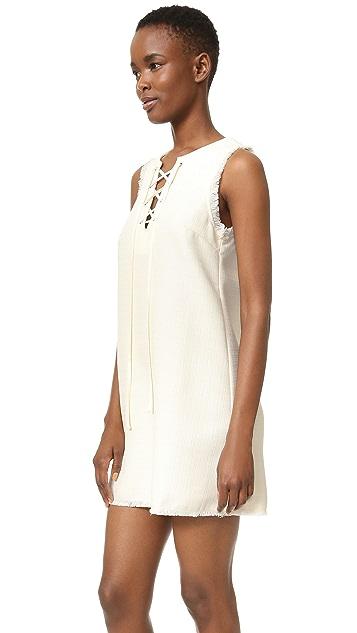 J.O.A. Lace Up Dress