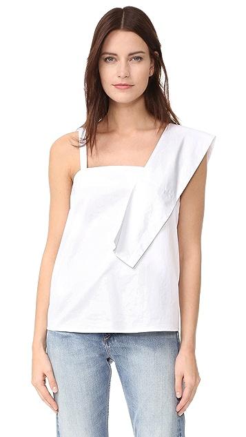 J.O.A. Асимметричная блуза