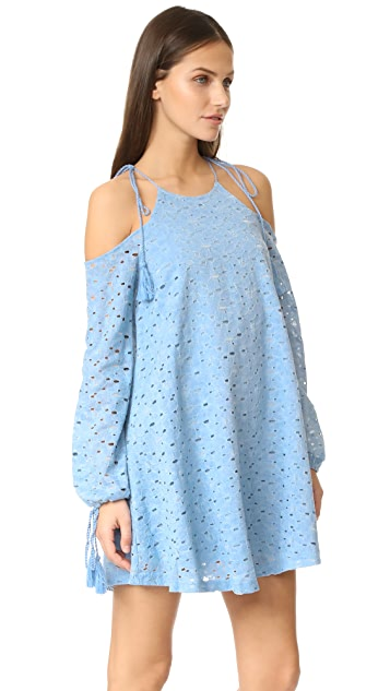 J.O.A. Cold Shoulder Lace Dress