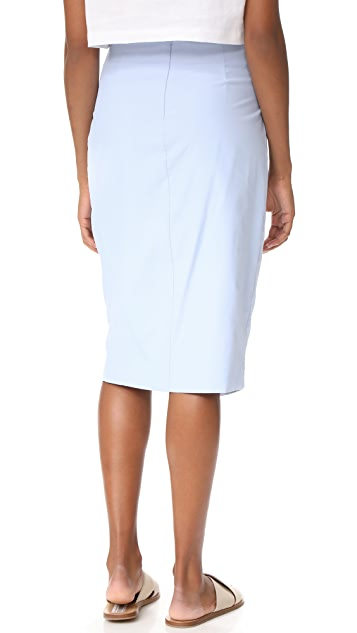 J.O.A. Wrap Style Pencil Skirt