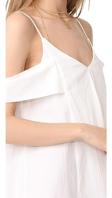 J.O.A. Cold Shoulder Dress