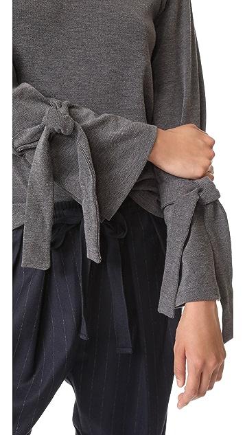 J.O.A. Tie Pullover