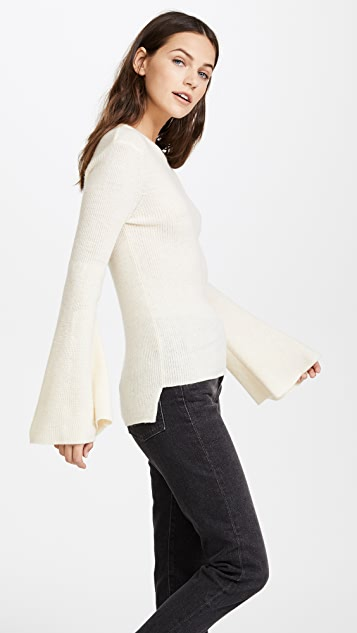 J.O.A. Belle Sleeve Sweater