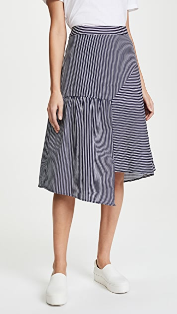 J.O.A. Stripe Skirt