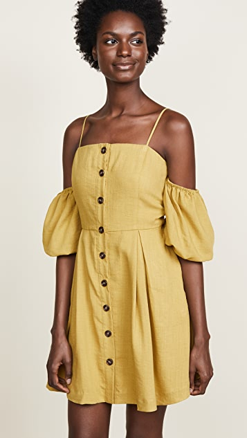 J.O.A. Puff Sleeve Dress
