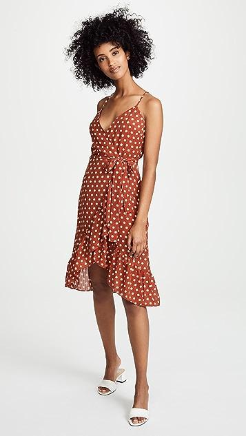 J.O.A. Polka Dot Dress