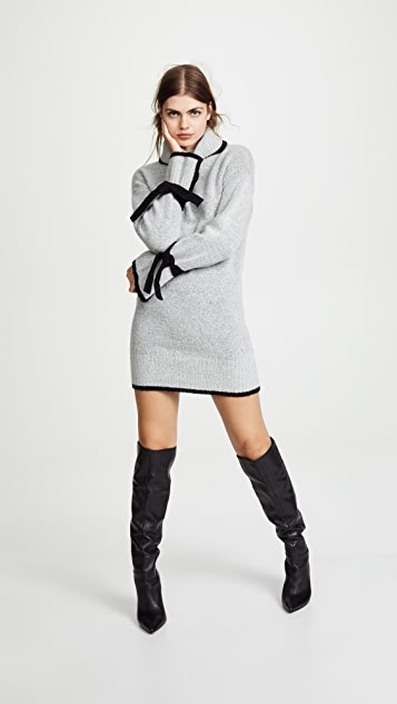 J.O.A. Turtleneck Sweater Dress