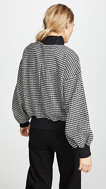 J.O.A. Houndstooth Sweater