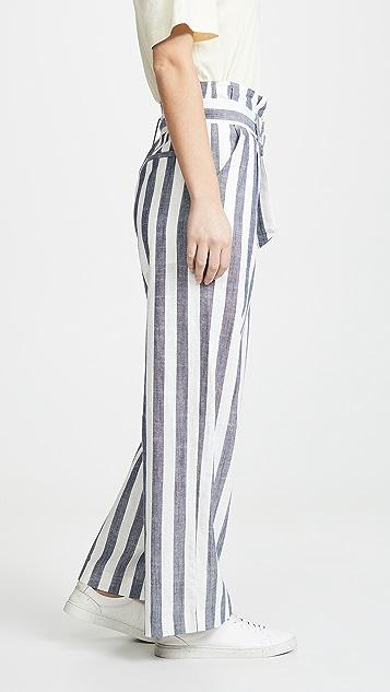 J.O.A. Striped Pants