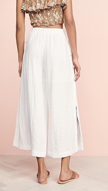 J.O.A. Off White Pants