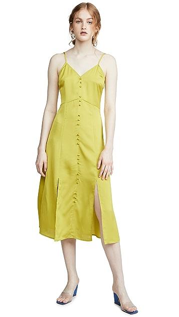 J.O.A. Платье-комбинация средней длины