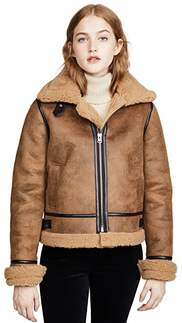 J.O.A. Shearling Jacket