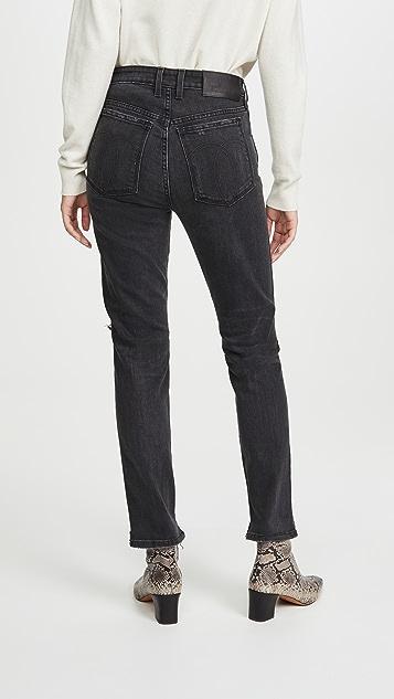 Jordache 复古七分牛仔裤