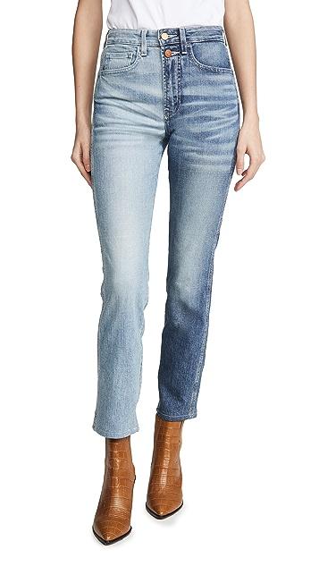 Jordache Half & Half Jeans