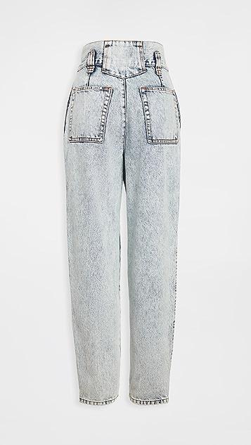 Jordache 复古纸包牛仔裤