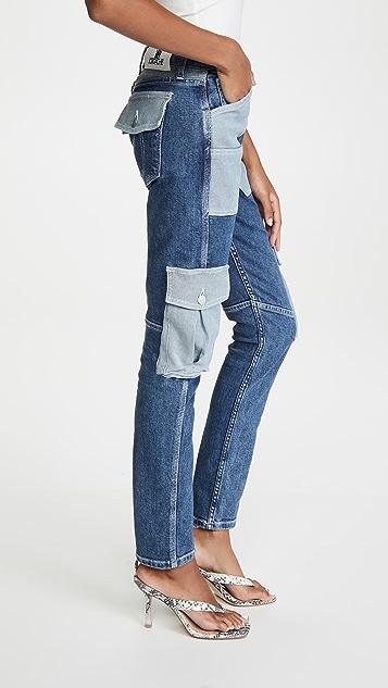 Jordache Patch Jeans