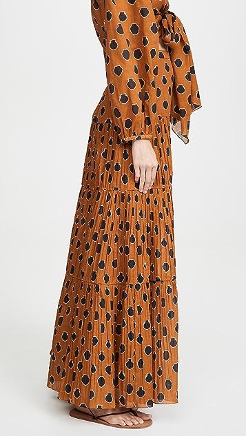 Johanna Ortiz Indigenous Skirt