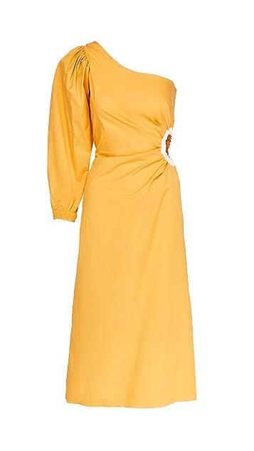 Johanna Ortiz Refulgence of Stars Midi Dress