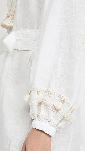 Johanna Ortiz Tapestry of Dreams 刺绣连衣裙