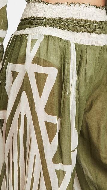 Johanna Ortiz Geografia Botanica 罩衫长裤