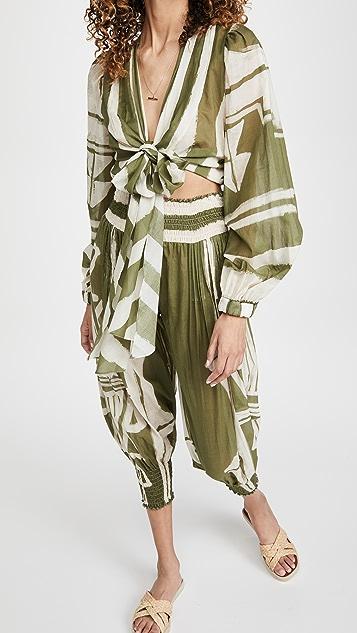 Johanna Ortiz Camino Inca 罩衫式上衣