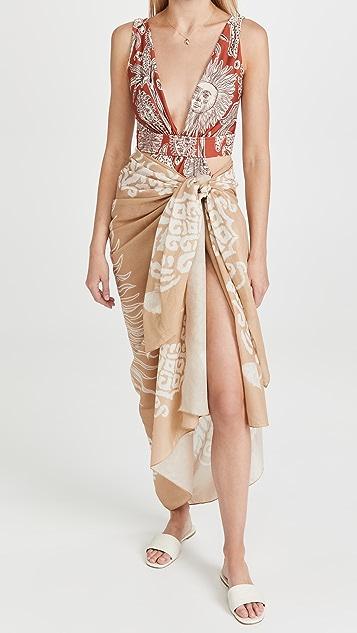 Johanna Ortiz Jo Camel Heroica 沙滩巾
