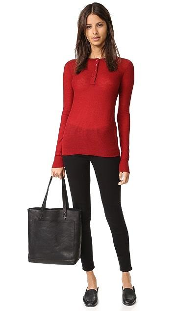 Joseph Moroccan Neck Cashmere Sweater