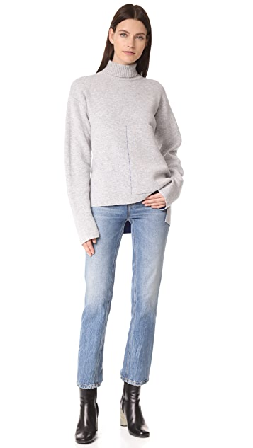 Joseph Roll Neck Double Face Sweater