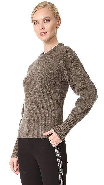 Joseph Round Neck Large Sleeves Sweater