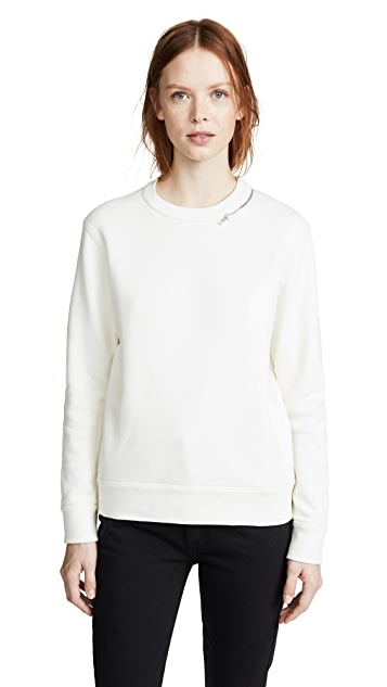 Joseph Zipper Sweatshirt