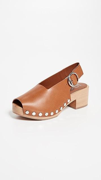 Joseph Stein Leather Sandals Gr. IT 37 XGwBr