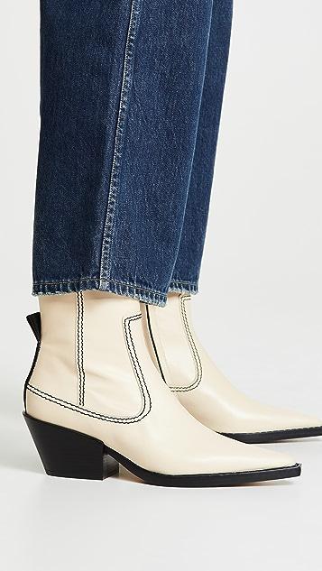 Joseph Rodeo 及踝靴