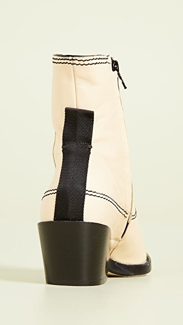Joseph Rodeo Ankle Boots
