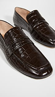 Joseph 鳄鱼纹乐福鞋