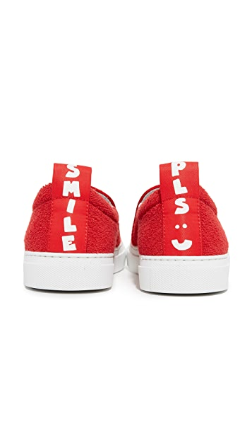 Joshua Sanders Smile Slip On Sneakers