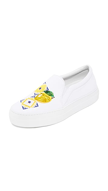 Joshua Sanders Capri Slip On Sneakers