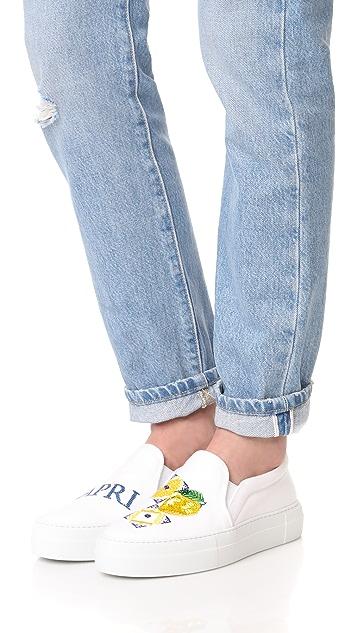 Joshua Sanders Capri Slip On Sneakers