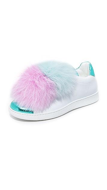 Joshua Sanders Pom Pom Sneakers