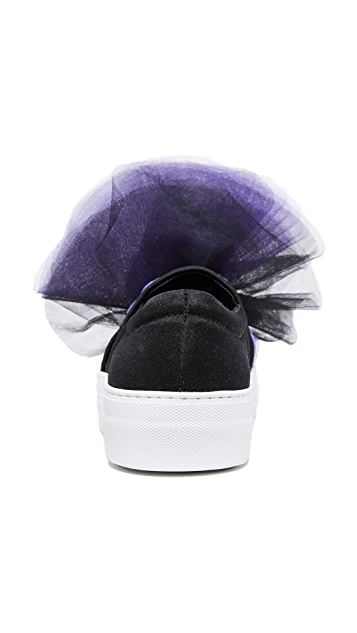 Joshua Sanders Tulle Sneakers
