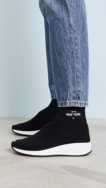 Joshua Sanders Fly to New York Sock 运动鞋