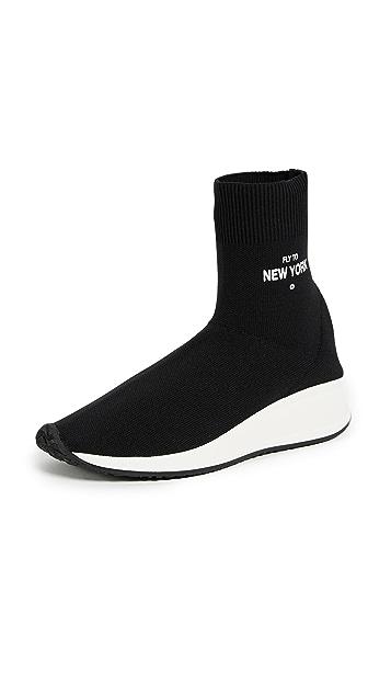 Joshua Sanders Fly to New York Sock Sneakers