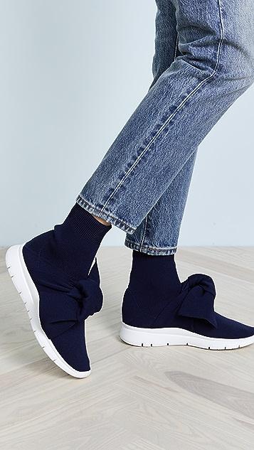 Joshua Sanders Sock Knot Sneakers